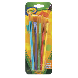 Crayola Synthetic Hair Brush Set - Set of 5