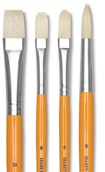 Isabey 6087 Hog Bright Brush Choose Your Size