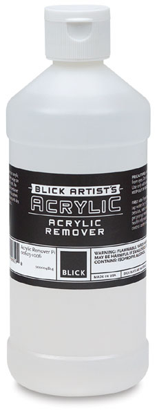 Blick Artists Acrylic Medium - Blick Acrylic Remover, 16 oz
