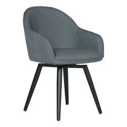 Studio Designs Dome Swivel Chair - Arm Chair, Charcoal