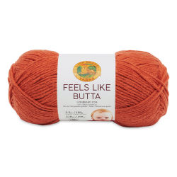 Lion Brand Feels Like Butta Yarn - Orange