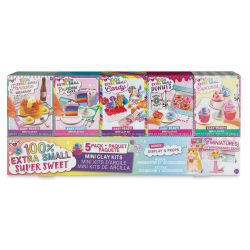 Fashion Angels Extra Small Mini Clay Kit - Set of 5