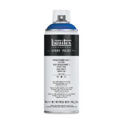 Liquitex Professional Spray Paint - Phthalo Blue (Red Shade), 400 ml can