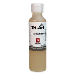 Tri-Art Top Coat Medium - Hard Gloss, 4 oz, Bottle