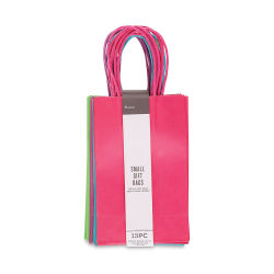 Gift Bags - Bright Colors, Pkg of 13, Small, 8-1/2'' x 5-1/4'' x 3-1/4''