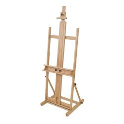Blick Studio Medium-Duty H-Frame Easel - Front Right Angle.