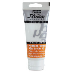 Pebeo Studio Modeling Paste - High Density, 100 ml tube