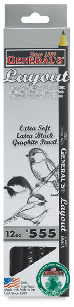 Layout Pencil, Pkg of 12