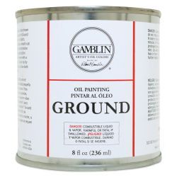 Gamblin Painting Ground - 8 oz can