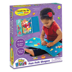 Faber-Castell Creativity for Little Kids My First Fun Felt Shapes