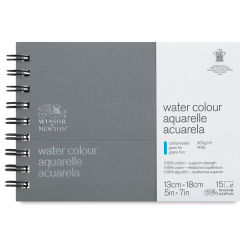 Winsor & Newton Professional Watercolor Journal - 5'' x 7'', Cold Press, 15 sheets, 140 lb