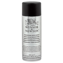Winsor & Newton Spray Varnish - Satin Varnish, 400 ml Can