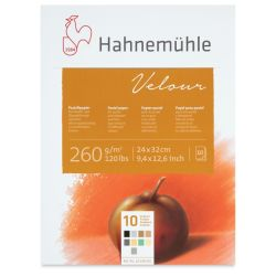 Hahnemuhle Velour Papers - 9'' x 13'', Assorted Colors, 10 Sheets