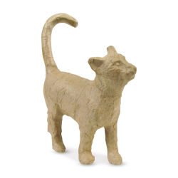 DecoPatch Holiday Paper Mache Figure - Cat