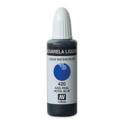 Vallejo Liquid Watercolor - Royal Blue, 32 ml