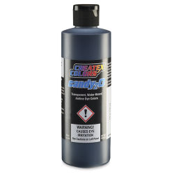 Createx Candy2O Auto Air Color - Black, 8 oz