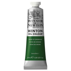 Winsor & Newton Winton Oil Color - Oxide of Chromium, 37 ml tube