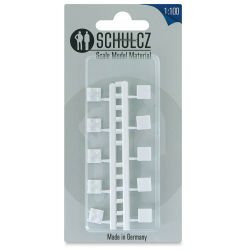 "Schulcz Scale Model Furniture - Square Tables, Pkg of 10, 1:100, 1/8"" (front of package)"