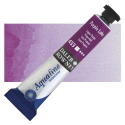Daler-Rowney Aquafine Watercolors and Sets - Purple Lake, 8 ml, Tube