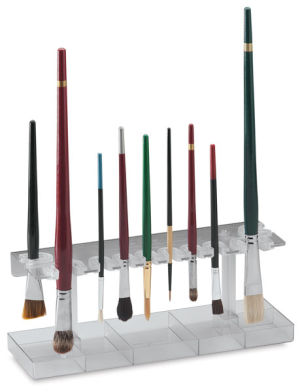 Brush Caddy with Drip Tray
