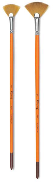 Flat Oil and Acrylic Series 879 Size 10 Raphael Kaerell Synthetic Brush