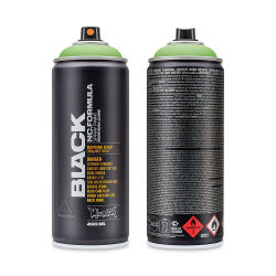 Montana Black Spray Paint - Infra Green, 400 ml can