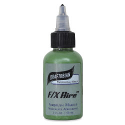 Graftobian F/X Aire Airbrush Makeup - Green, 2 oz