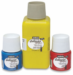 Pebeo Setacolor Fabric Paint And Mediums by Blick Art Materials