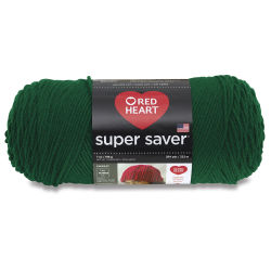 Red Heart Super Saver Yarn-Paddy Green