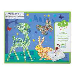 Djeco Le Petit Artist Painting Kit - Colorful Parade