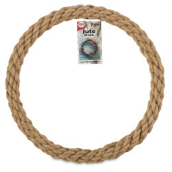 Pepperell Crafts Natural Jute Rope Wreath - 12''