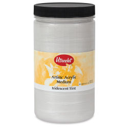 Utrecht Acrylic Medium - Iridescent Tinting Medium, Quart