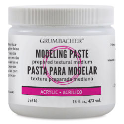 Grumbacher Acrylic Modeling Paste - 16 oz, Jar
