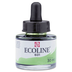 Ecoline Liquid Watercolor with Dropper - Light Green, 30 ml jar