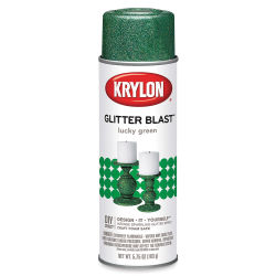 Krylon Glitter Blast Spray Paint - Lucky Green, 5.75 oz can