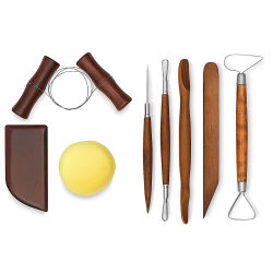 8-Piece Beginner Pottery Tool Set