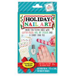 Faber-Castell Creativity for Kids Holiday Nail Art Mini Kit