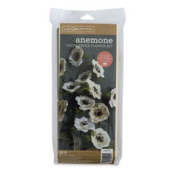 Lia Griffith Crepe Paper Flower Kit - Anemone, 29 Pieces