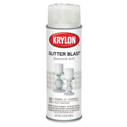 Krylon Glitter Blast Spray Paint - Diamond Dust, 5.75 oz can