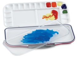 Airtight Watercolor Palette, 18 Wells