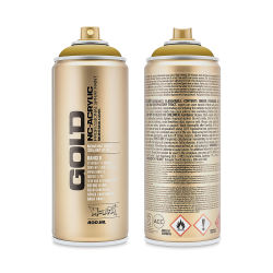 Montana Gold Acrylic Professional Spray Paint - Mustard, 400 ml can