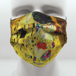 Today Is Art Day Reversible Face Masks- The Kiss