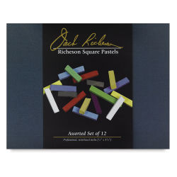 Richeson Semi-Hard Square Pastel - Set of 12