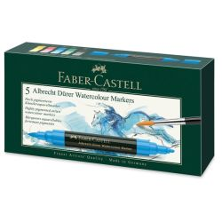 Faber-Castell Albrecht Dürer Watercolor Markers - Set of 5