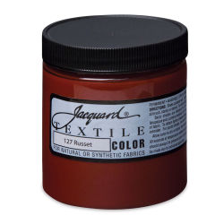 Jacquard Textile Color - Russet, 8 oz jar
