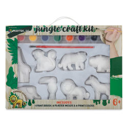 Playtek Figurine Paint Kit - Jungle (Front of packaging)