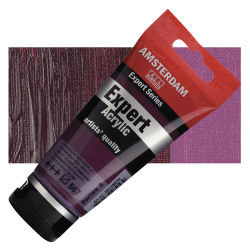Amsterdam Expert Series Acrylics - Permanent Red Violet, 75 ml tube