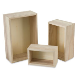 Darice Nested Wood Boxes