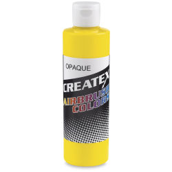 Createx Airbrush Color - 8 oz, Opaque Yellow