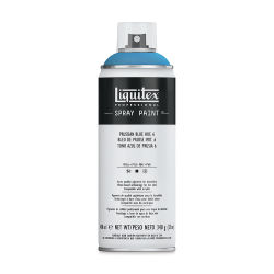 Liquitex Professional Spray Paint - Prussian Blue Hue 6, 400 ml can